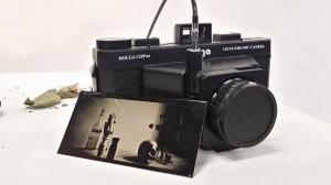 35 second exposure Tin Type